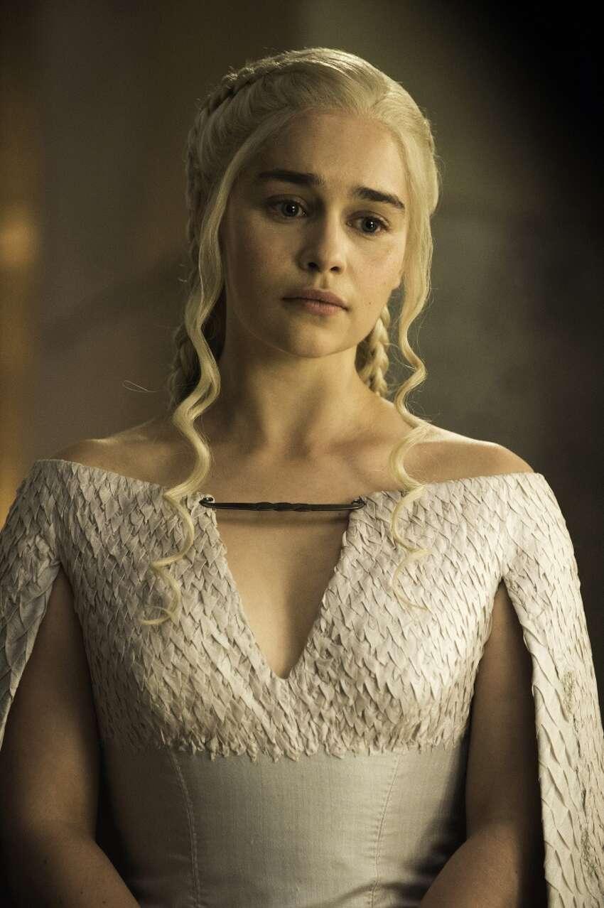 GAME OF THRONES 44 (season 5, episode 4): Emilia Clarke. photo: Helen Sloan/courtesy of HBO
