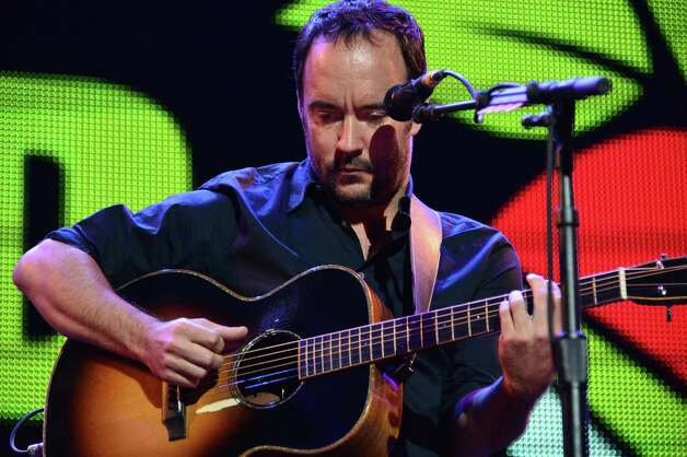 Dave Matthews performs at Farm Aid 2013 at SPAC Saturday Sept. 21, 2013, in Saratoga Springs, NY.  (John Carl D'Annibale / Times Union) ORG XMIT: MER2013092120293739 Photo: John Carl D'Annibale / 00023919A