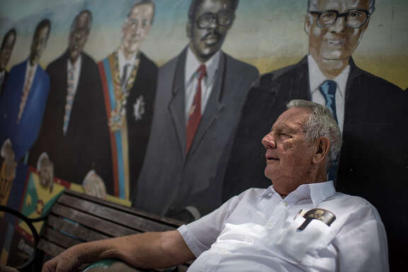 """Gabriel Perez, 79, came from Cuba in 1961 and has been coming to Domino Park in Miami's Little Havana ever since. """"[Marco] Rubio is like the old guys here who can't stop fighting,"""" Perez said. """"They try the same idea for 40 years, and it never works and they just keep fighting."""""""