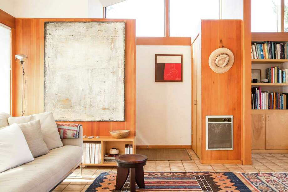 "Leonard Koren's West Marin home embraces wabi-sabi, translated as ""rustic."" Koren introduced the Japanese design aesthetic to Western minds in a 1994 book. Photo: Aubrie Pick / Special To The Chronicle / ONLINE_YES"