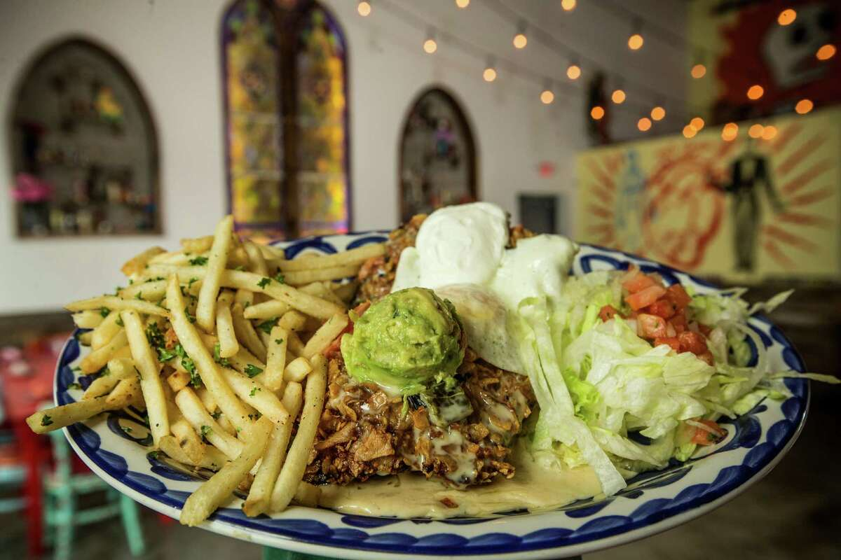 El Jefe's Chicken Fried Steak is shown at The El Cantina Superior.