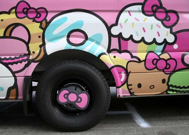 Hello Kitty Truck returns to Japantown for 2017 Cherry Blossom Festival