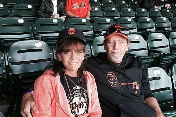 Rookie Chris Heston's parents, Teresa and Bo, were in the stands at AT&T Park for their son's home debut.