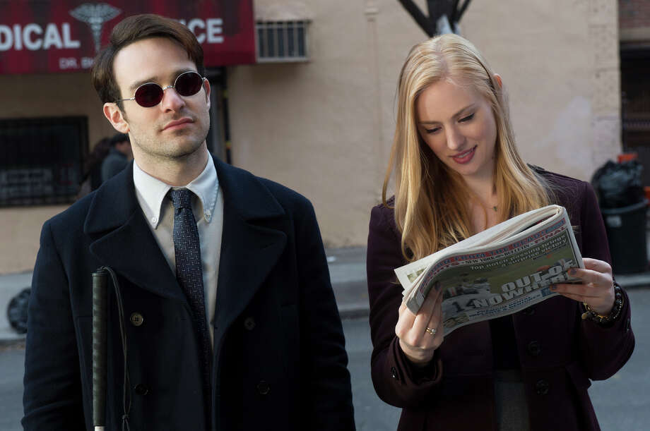 'Daredevil'- Based in the Marvel universe, the blind attorney by day, vigilante by night fights crime in New York City. Photo: HANDOUT, STR / The Washington Post