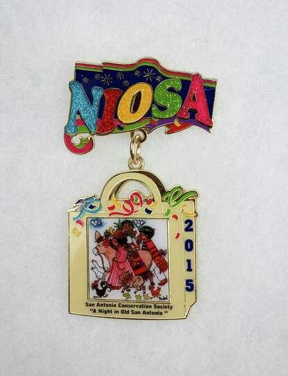 2015 Night in Old San Antonio Fiesta Medal $10 at 227 S