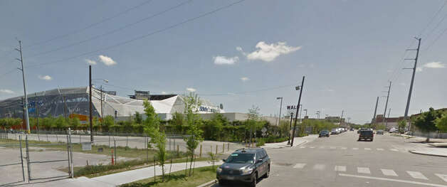Walker Street near BBVA Compass Stadium downtown Photo: Google Maps