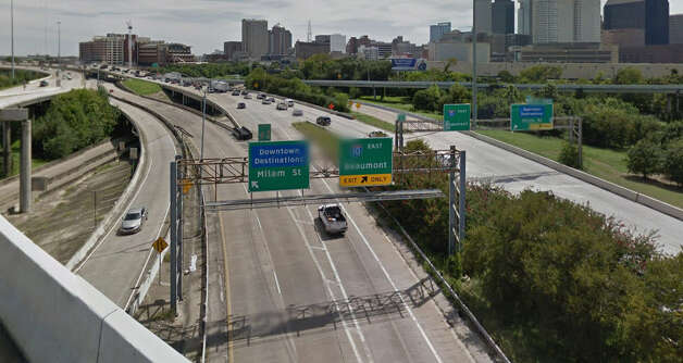 Milam exit of Interstate 45 south near downtown Photo: Google Maps