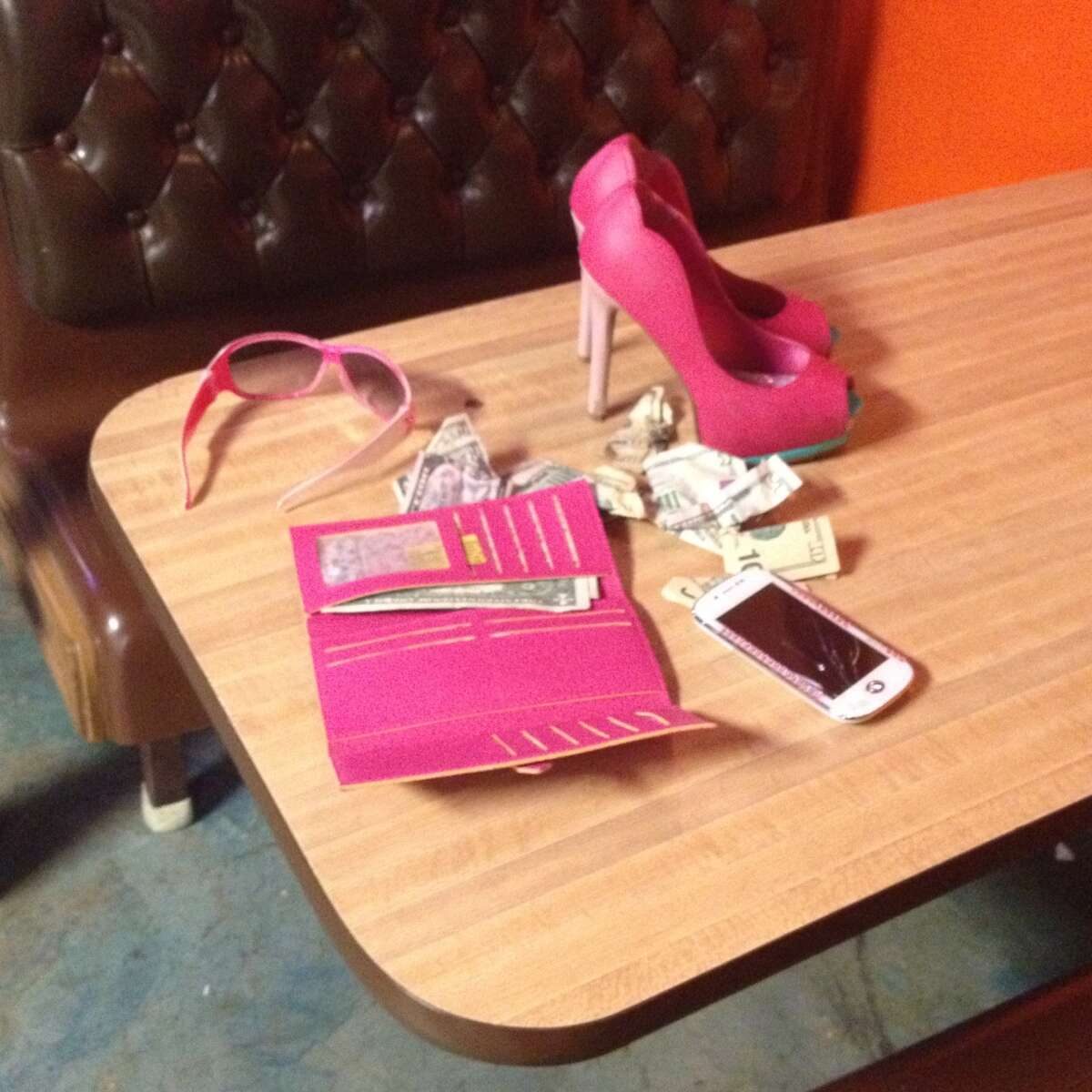 The average age at which girls first become victims of prostitution is 12 to 14, according to one study, notes the Texas Department of Public Safety.Stilettos, a cell phone and other belongings sit on the table of a Houston cantina raided by authorities for suspected ties to human trafficking, sex trafficking and related-prostitution.