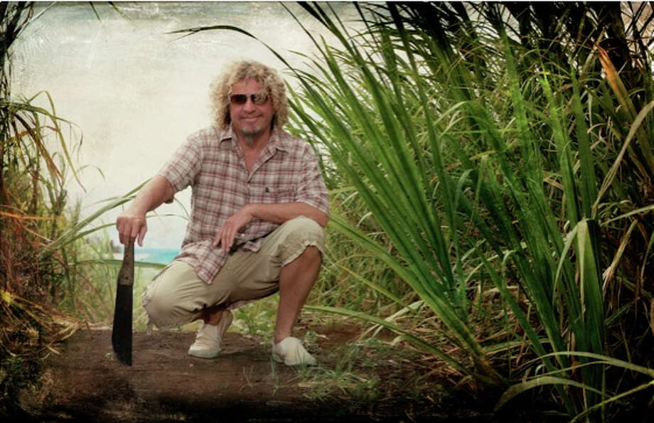 """I become a jungle boy over there,"" says Sammy Hagar of Maui, where he and wife Kari have a self-sustaining homestead. ""We'll be sitting on the plane back and realize our feet are muddy and our clothes are stained, but you don't really notice it when you're over there. ... I never looked at Maui as a party lifestyle place; that's Cabo. We go to Maui to pull out and really just recharge."" Photo: Courtesy Red Head Inc."