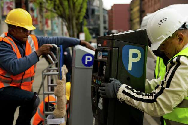 Smart Car Seattle: Crews Install First Of Seattle's 'smart' Parking Meters