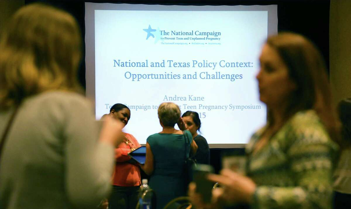 The Texas Campaign to Prevent Teen Pregnancy conference at the Marriot Plaza is in its second and final day today.