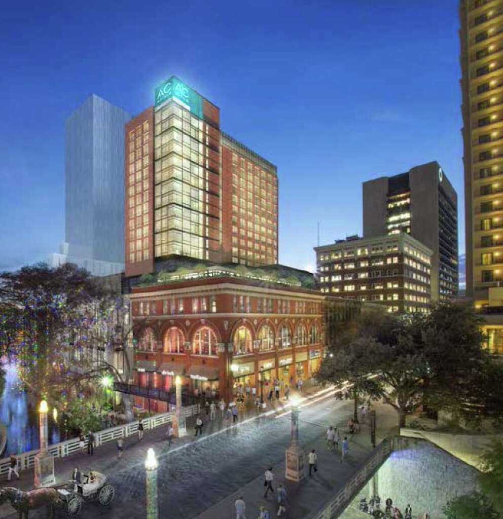 A 252 Room Ac Hotel By Marriott Is Being Proposed For Much Of The River