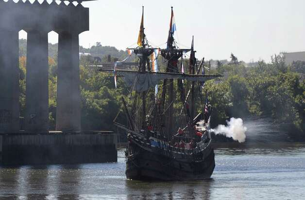 Readers said Albany needs to do more to promote its rich history, and several were frustrated by the loss of the Half Moon, a replica of Henry Hudson's ship that recently relocated to the Netherlands. (Skip Dickstein/Times Union) Photo: SKIP DICKSTEIN / 00023939A