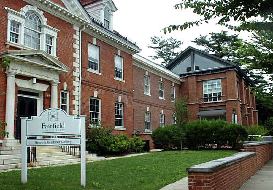 """The Fairfield Public Library, writes columnist Ron Blumenfeld, """"is a cornerstone resource that enriches our town and our citizens, young and old ... Our community must jealously protect our first-rate library by budgeting sufficient funds to prevent any reductions ..."""" Photo: File Photo / Fairfield Citizen"""