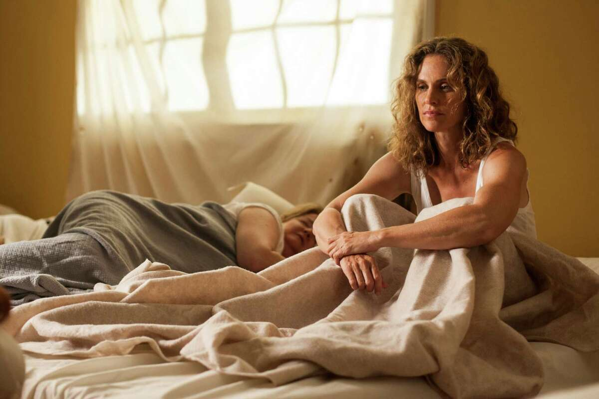 This image released by HBO shows Amy Brenneman in a scene from