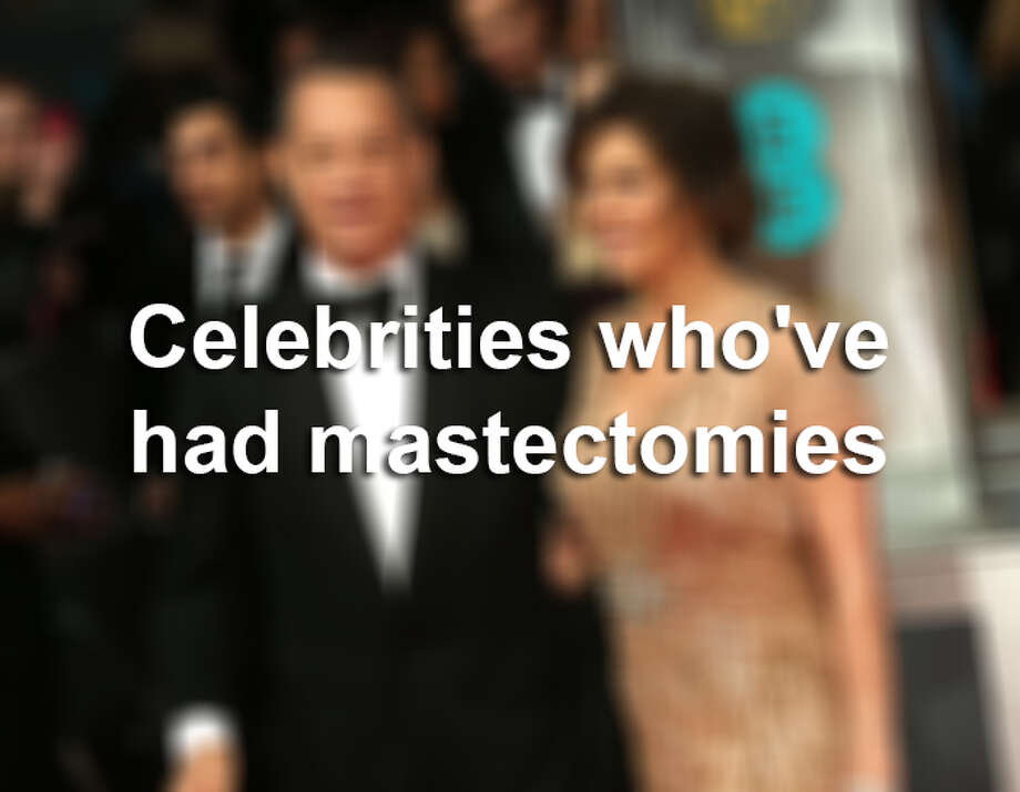 These celebrities have had one or both of their breasts removed, either as a result of cancer or as a preventative measure.SOURCES: Wikipedia, StarPulse.com, Examiner.com, Flattops.webs.com. Photo: Joel Ryan, Invision/Associated Press