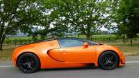 Bugatti Veyron — world's most expensive two-seat production car - Photo