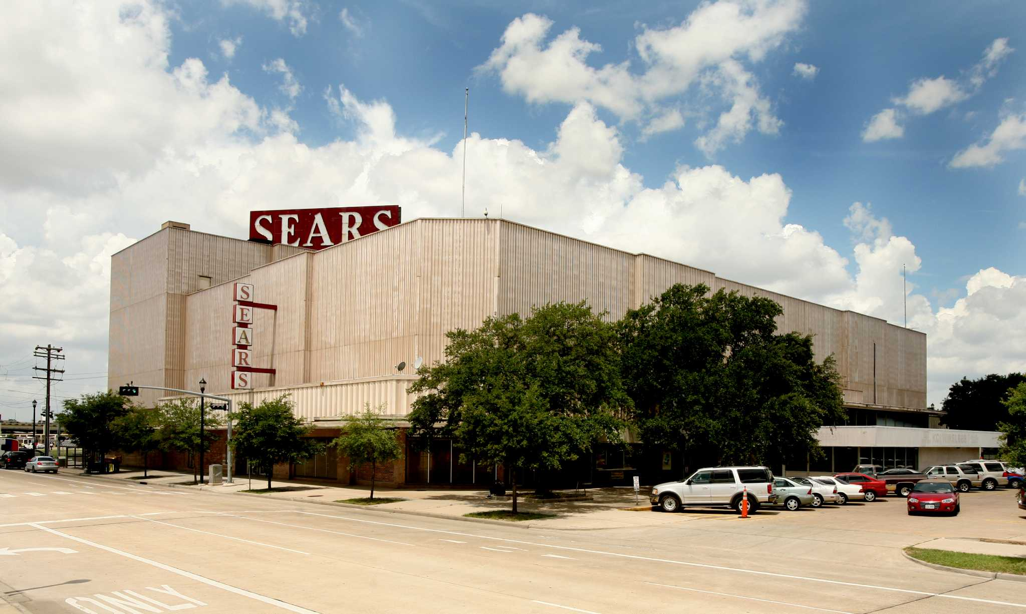 the sears that looks like it s wrapped in cardboard
