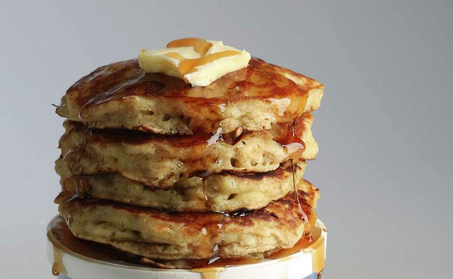 A stack of oatmeal pancakes featured in Kitchen to Kitchen column on Thursday, April 2, 2015, in Houston.  ( Mayra Beltran / Houston Chronicle ) Photo: Mayra Beltran, Staff / © 2015 Houston Chronicle