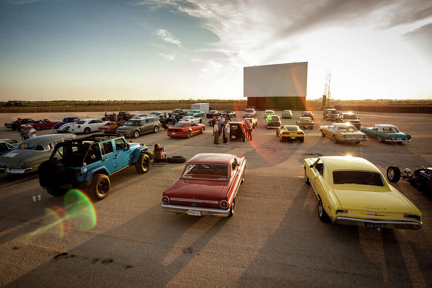 The Stars & Stripes Drive-In Theatre recently opened in New Braunfels, making it one of the largest drive-in theatres in the area.