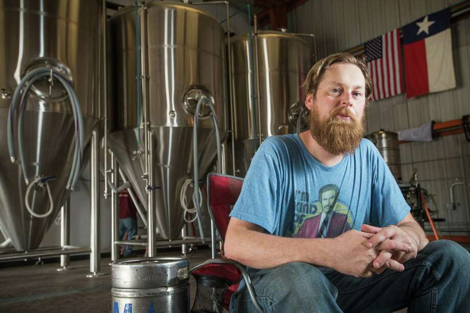 As the number of craft breweries in the area has grown, so has his customers' loyalty, Brash Brewing Co. owner Ben Fullelove says. Photo: Brett Coomer, Staff / © 2015 Houston Chronicle