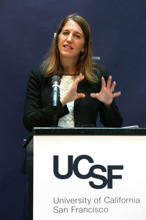 In March, Department of Health and Human Services Secretary Sylvia M. Burwell discussed President Obama's Precision Medicine Initiative at UCSF. Photo: Liz Hafalia / Liz Hafalia / The Chronicle / ONLINE_YES