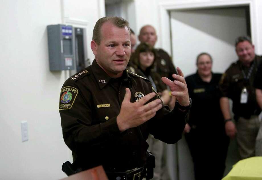 Fort Bend County Sheriff Troy Nehls ( Gary Coronado / Houston Chronicle ) Photo: Gary Coronado, Staff / © 2015 Houston Chronicle