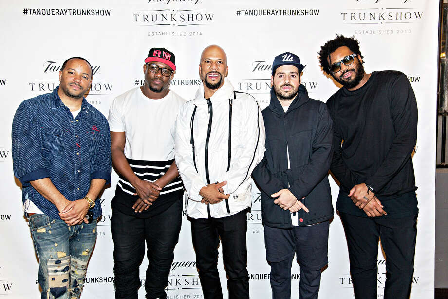 Oscar-winning rapper Common was among many guests at the Tanqueray Trunk Show at The Astorian in Houston on Saturday, April 11, 2015. (photo courtesy Team Epiphany) / Dorothy Hong Photography