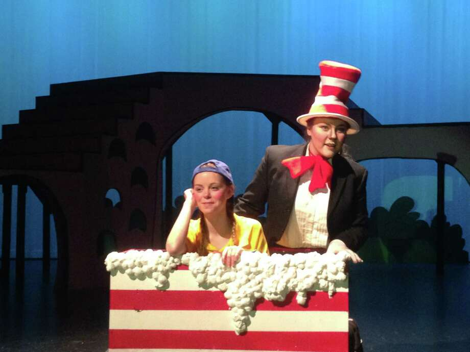 """Seussical"" at Lamar Consolidated High was also nominated for Best Lighting Design, which was created by junior Aaliyah Jenkins. Photo: Claudia McCotter / Lamar Consolidated"