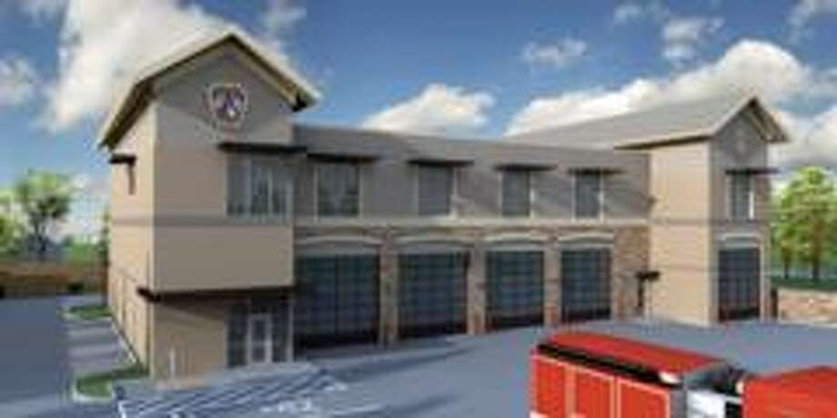 Rendering of Atascocita Fire Station. Photo: Courtesy
