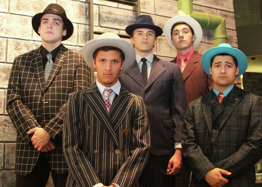 "Pearland High School's production of ""Guys and Dolls"" is nominated in 12 categories at the annual Tommy Tune Awards, set for April 21. Photo: PHS"