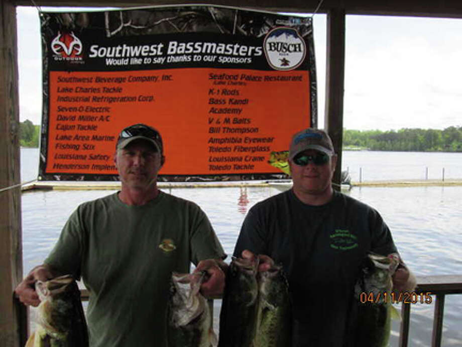 Keith Jenschke and John Hrapmann with their 18.83 lbs for 1st palce. courtesy photo