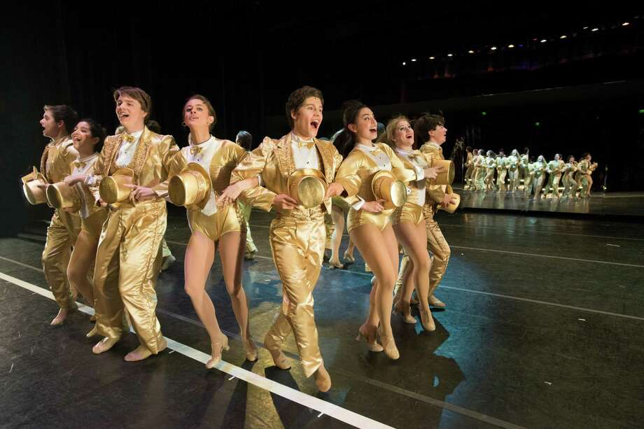 """A Chorus Line"" at The Kinkaid School won four Tommy Tune Awards including best musical. It also receive awards for best ensemble/chorus, best choreography and best supporting actor for Harrison Poe as Paul. Photo: The Kinkaid School"