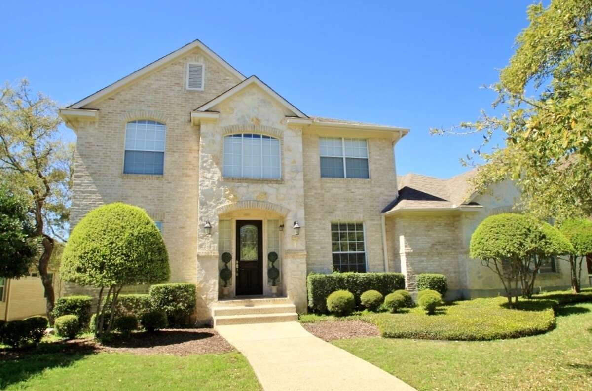 Address: 20903 Cactus Loop, San Antonio TX 78258 Size: 3,665 sq.ft Bedrooms: 4 Bathrooms: 3.5 Year built: 1998 Acreage: .26 acres HOA: Stone Oak Property Owners Association; Big Springs Owners Association Amenities: Executive home in guarded & gated community, former Sitterle model home. Four bedrooms with study/optional fifth bedroom downstairs. Two living areas with high ceilings, tons of natural light, open dine-in island kitchen. Master suite downstairs with dual closets and separate tub/shower. Additional soundproof study upstairs, Jack-and-Jill bath on one side and guest suite on the other. Large deck, brick/stone exterior, highly sought-after NEISD schools and convenient location to Highway 281, Stone Oak, TPC and Loop 1604.