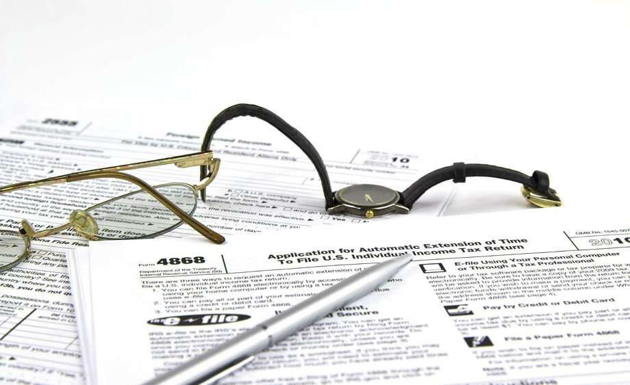 """""""Failure to file is 10 times more costly than failure to pay,"""" says Belinda Jones, an area manager for Jackson Hewitt Tax Service. Photo: Tom Baker / tab62 - Fotolia"""