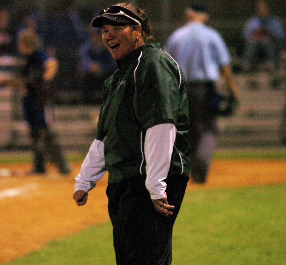 Spring softball coach Julie Wyrick has her Lions on the verge of another postseason berth. Photo: Chris Curry, FREELANCE / FREELANCE