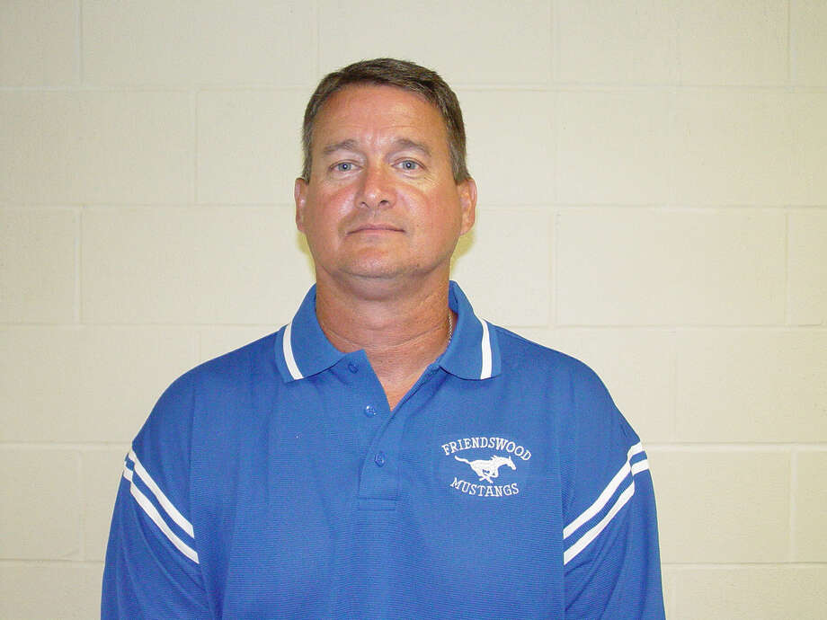 Coach Don Jones, Friendswood football 2004. / handout CD