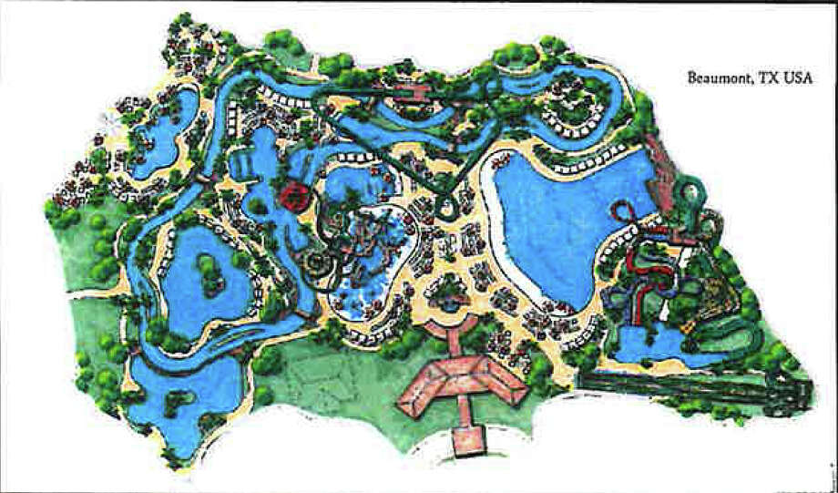 Artist rendering of the proposed water park to be built in Beaumont. Photo provided by the City of Beaumont