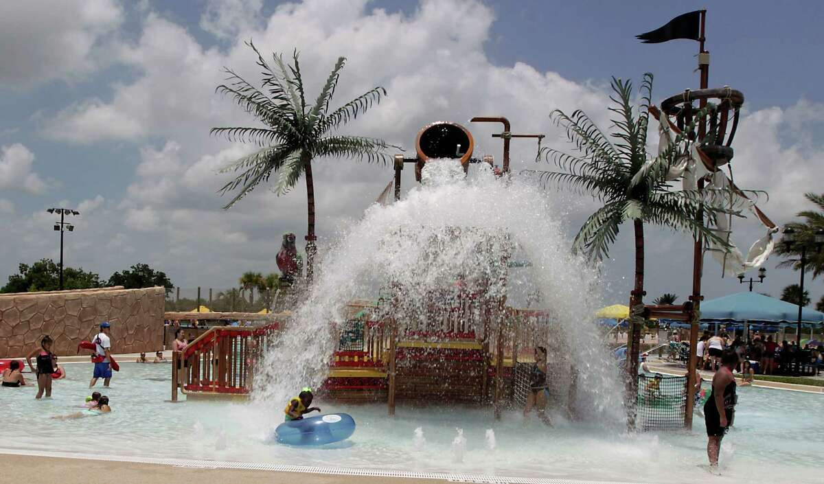 Pirates Bay Waterpark5300 East Road, Baytown - Details:This Baytown atrraction featureswaterslides, wave pools and a lazy river, plus kids' play areas.- Admission cost: Friday to Sunday entry is $20 per person 4-feet-tall and under and $25 per person more than 4-feet-tall. Monday through Thursday entry is $15 per person 4-feet-tall and under and $20 per person more than 4-feet-tall. - Extras:There are no extra fees for life vests or tubes.