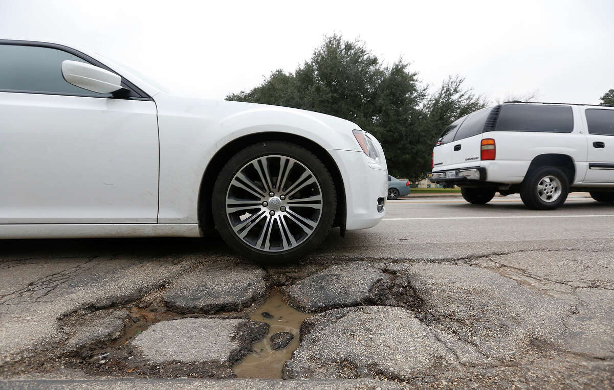 Houston's Public Works Department has nearly tripled the number of potholes filled in the past two months compared with the same time period in 2014.