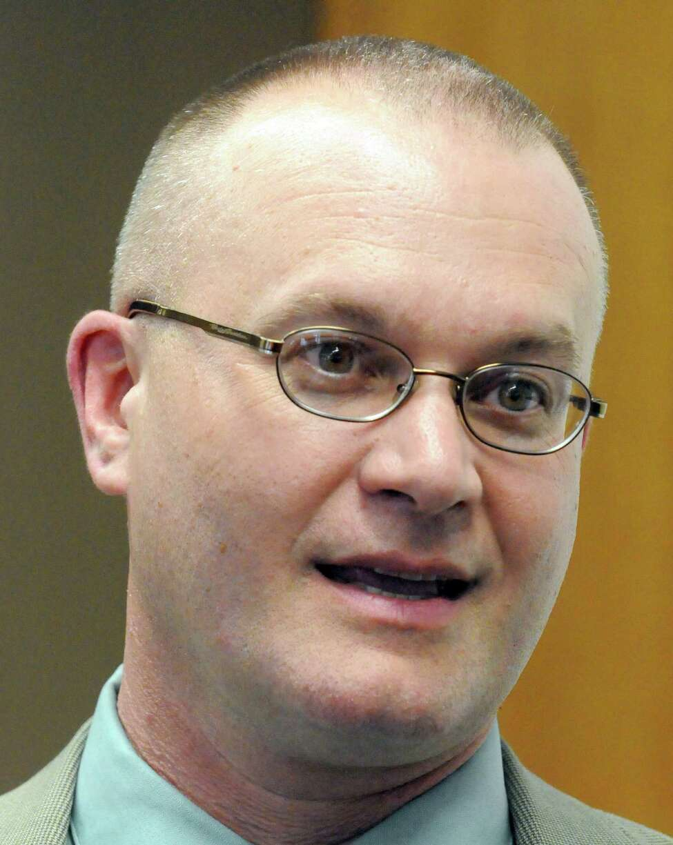 Cosimo Tangorra Jr. was announced as the next superintendent in the Niskayuna school district on Tuesday April 14, 2015 in Niskayuna, N.Y. (Michael P. Farrell/Times Union)