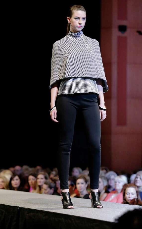 Clothing designs by University of the Incarnate Word student Kimberly Howard at the 2015 Cutting Edge Fiesta Fashion Show at the Tobin Center on Tuesday, Apr. 14, 2015. Photo: Kin Man Hui, Kin Man Hui/San Antonio Express-News / ©2015 San Antonio Express-News