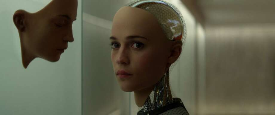 "Alicia Vikander in ""Ex Machina."" (Universal Pictures International) Photo: Handout, McClatchy-Tribune News Service"