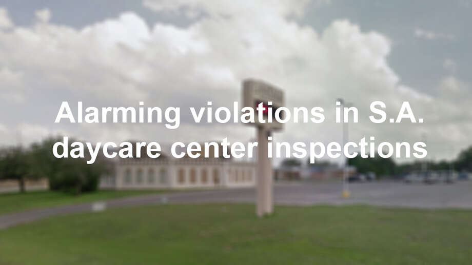 "In addition to a hefty amount of inquiry and research, handing over your child to strangers for the day demands a huge leap of faith. These Bexar County childcare centers in the following gallery have received 10 or more citations for ""high violations"" in the past two years, according to the Texas Department of Family and Protective Services. Photo: Google Maps"