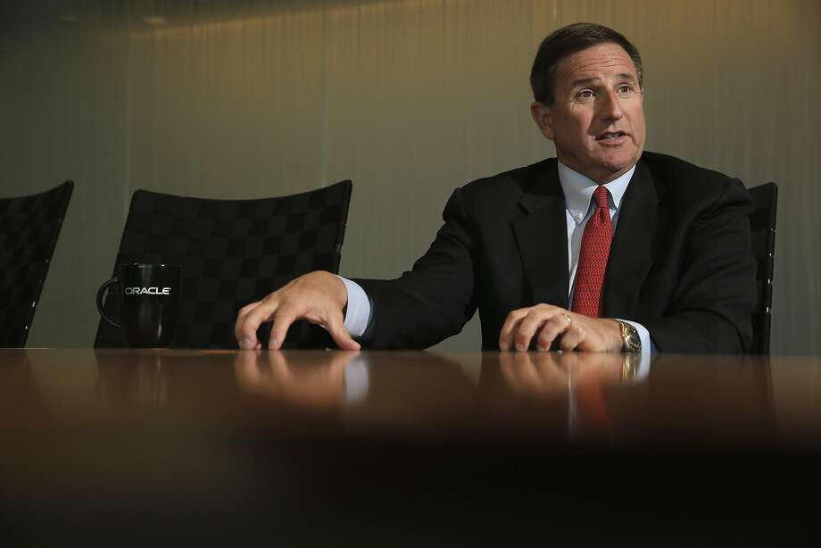 Mark Vincent Hurd the co-CEO of Oracle Corporation as seen during an interview at their headquarters in Redwood City, Calif. on Tues. April 14, 2015. Photo: Michael Macor, The Chronicle