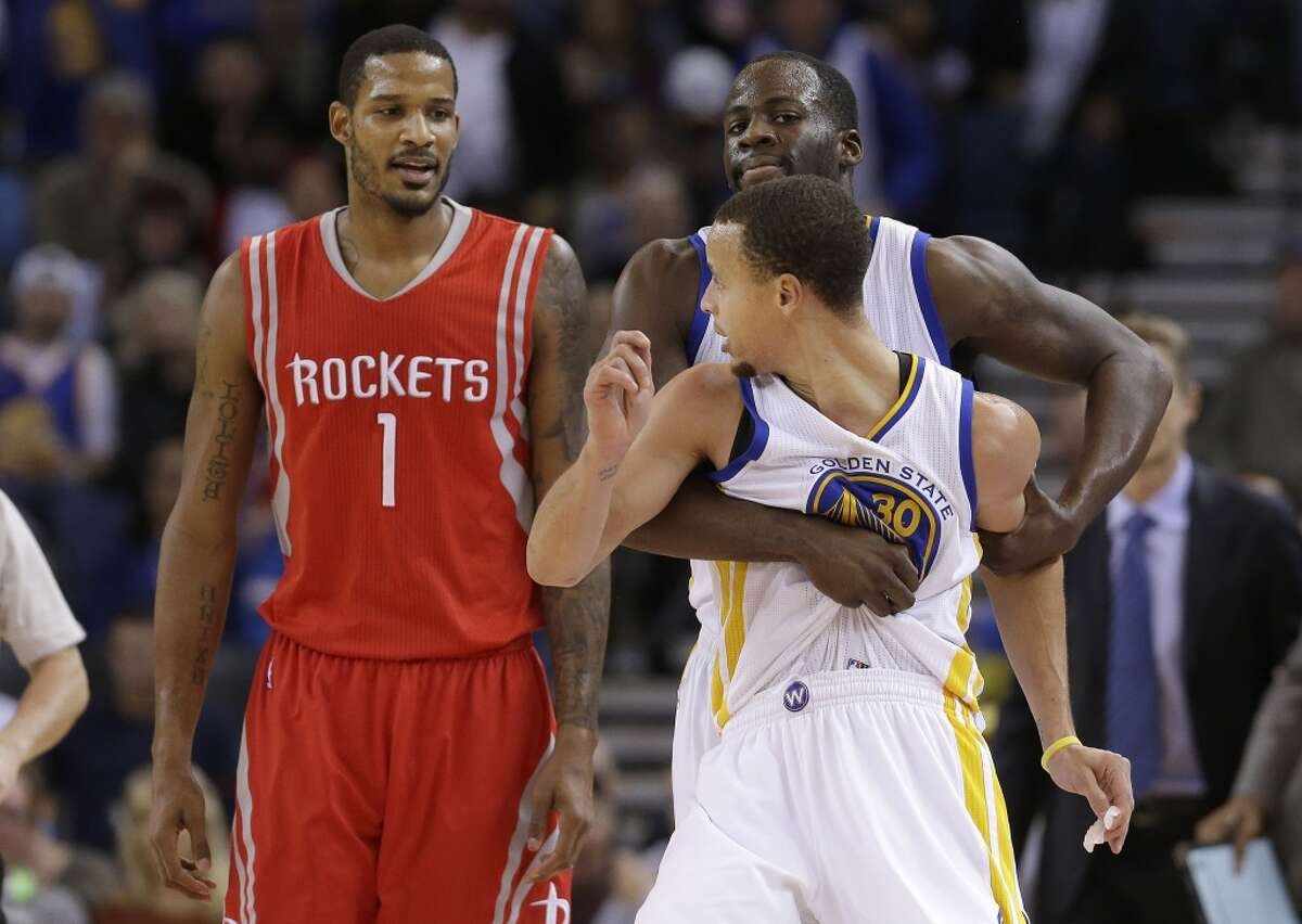 Warriors 105, Rockets 93 When: Dec. 10, 2014 Where: Oracle Arena, Oakland Recap: A rhubarb between Stephen Curry and the Rockets' Trevor Ariza generated headlines. James Harden's game-high 34 points weren't enough for the Rockets.