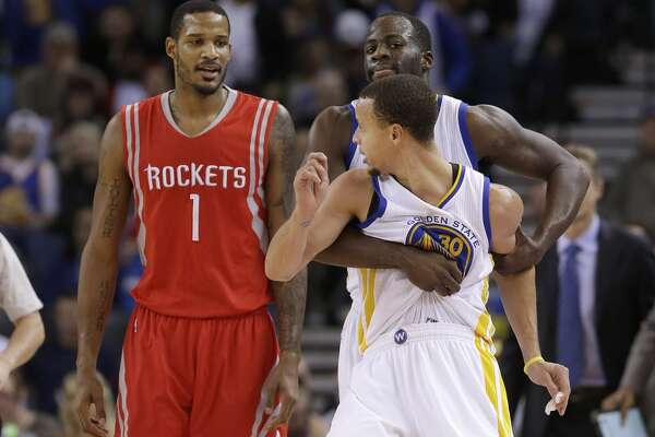 5ad99199 Rockets clinch playoff spot, focus on Warriors - HoustonChronicle.com