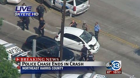 Man in high-speed chase shot dead by police outside Houston