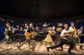 """The ensemble in the national tour of """"Once"""""""