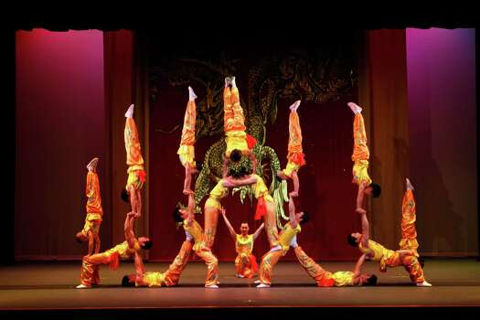 Peking Acrobats will perform with the Houston Symphony Wednesday in The Woodlands. Photo: Courtesy Photo